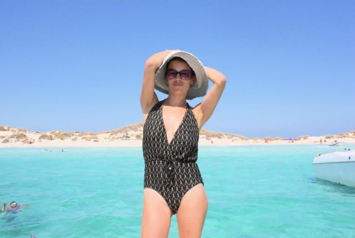 Juliet Angus Ladies Of london swimsuit style