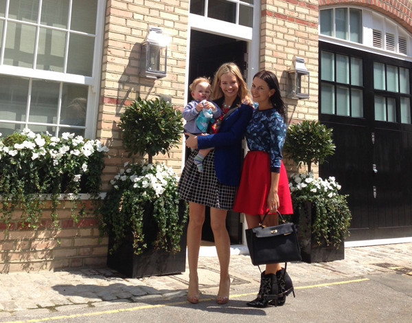 Juliet Angus & Marissa Hermer Ladies of London lunch at Fortnum and Mason