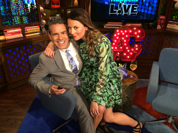 Juliet Angus & Andy Cohen - Watch What Happens Live