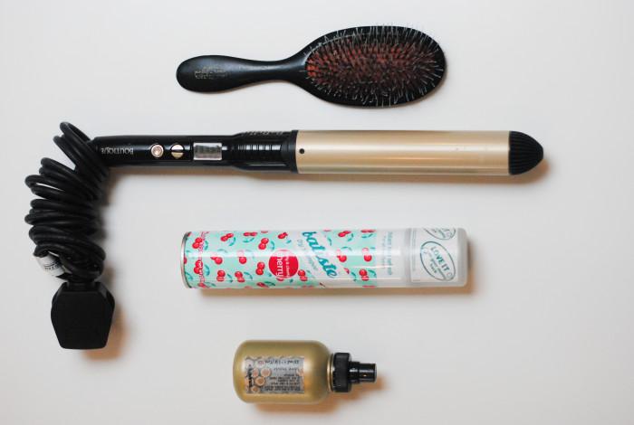 Juliet's evening hair styling essentials