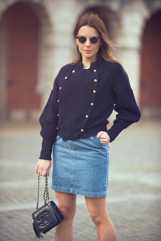 Isabel Marant Military Sweater