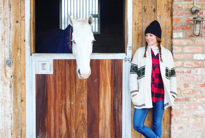 juliet angus, #thelondonstylist, ladies of london, country chic, anine bing sweater, rupert sanderson boots, chanel beanie, rag & bone jean, soho farm house