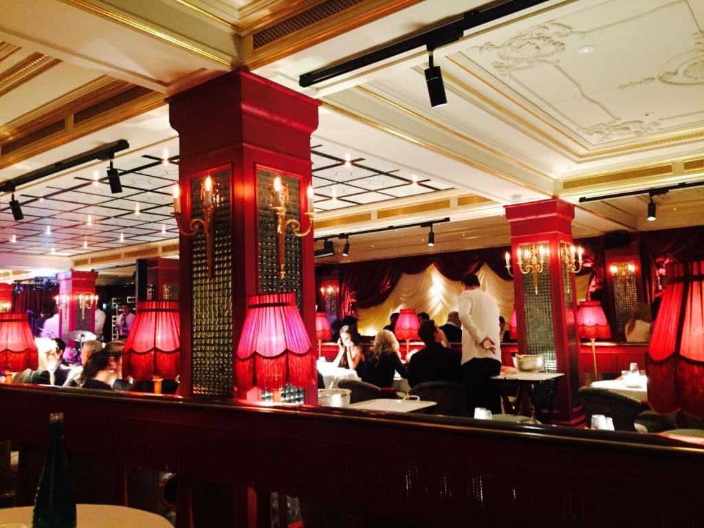 london's top restaurants, park chinois