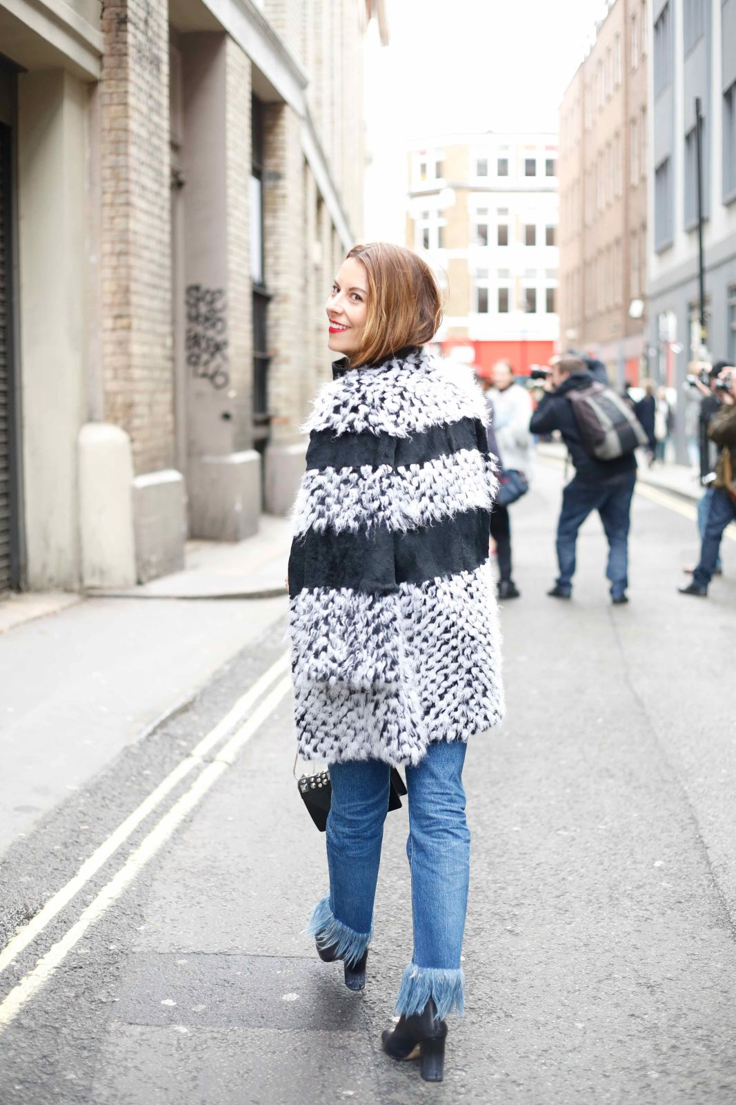 3x1, linda richards, bluefly, shopbop, fringe denim, london fashion week, #thelondonstylist, juliet angus