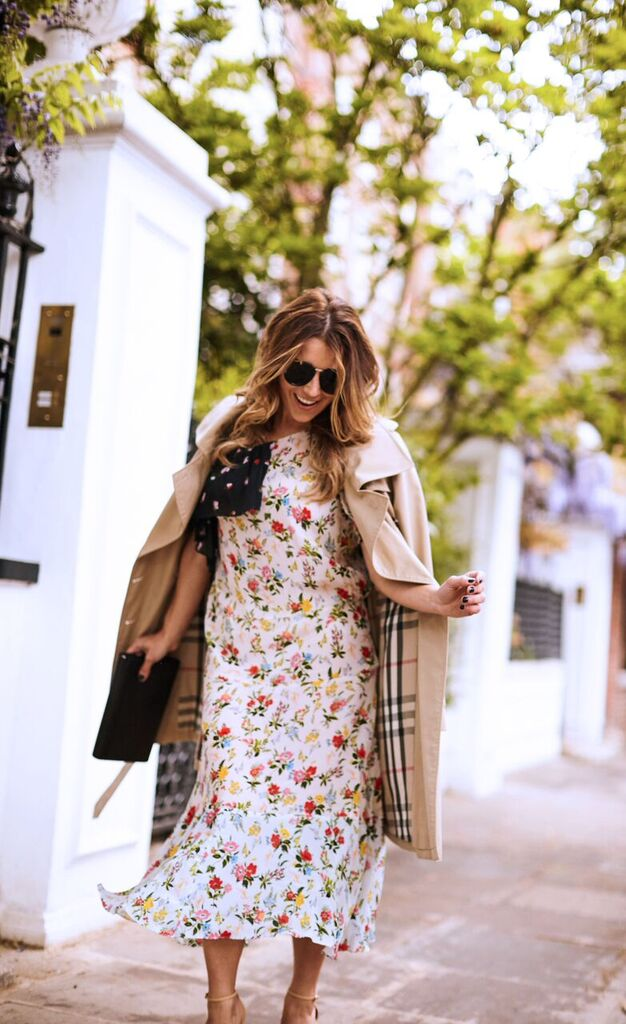 Preen Line dress X Burberry Trench