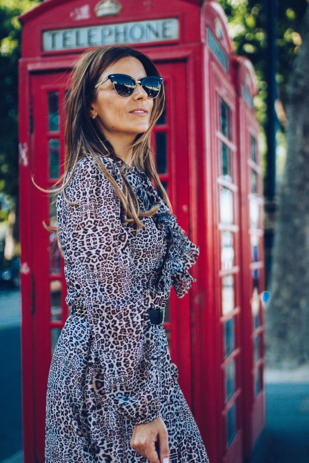 lily and lionel leopard dress with JM Davidson