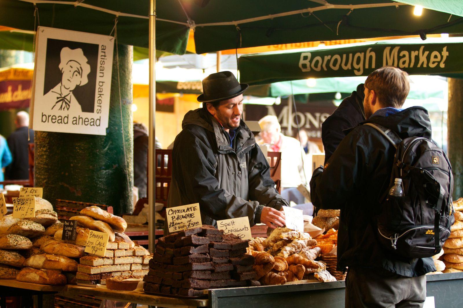 Matt Jones is the owner of Bread Ahead, in Borough Market, London