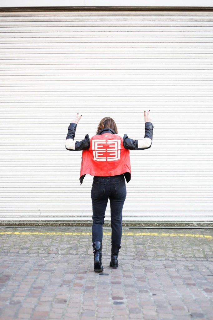 les eclaires, motorcycle jacket, asos jeans, taylor morris, apm monaco, combat boots, juliet angus, #thelondonstylist