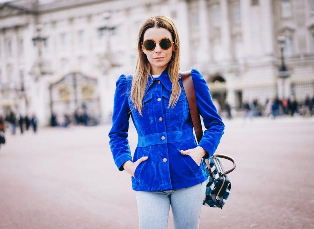 Marc Jacobs jacket at Buckingham Palace