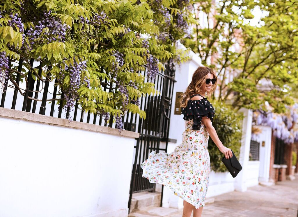 Preen Dress x The Daily Edited clutch