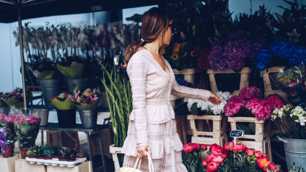 love shack fancy cotton dress