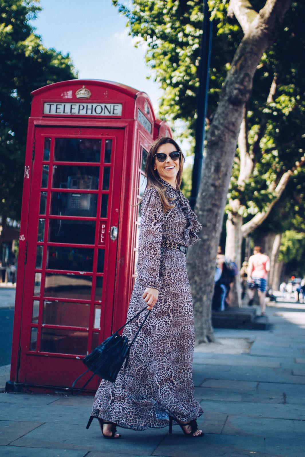 lily and lionel leopard dress with JM Davidson purse