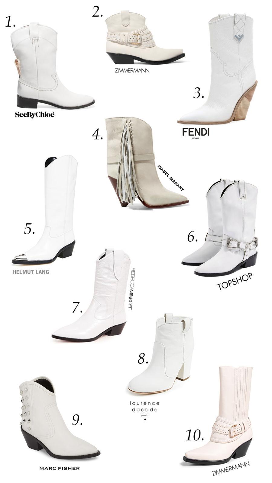 White Western Boots | Juliet Angus